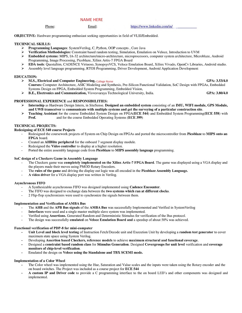 frontend-sample-resume